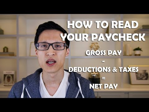 How To Read Your Paycheck