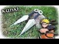 Making 2 Easy Aluminum Kunai Throwing Knifes (Naruto)