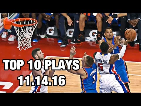 Top 10 NBA Plays: November 14th