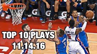 Top 10 Nba Plays: November 14th