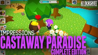 Castaway Paradise Complete Edition: Impressions (animal crossing-like, gameplay and review)
