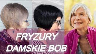 Top 20 💘 fryzury bob dla starszych pań