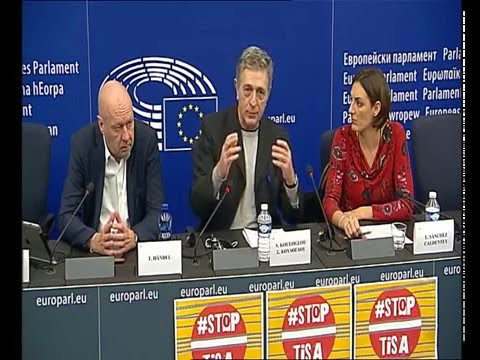 Press conference: TiSA: Why We Oppose It