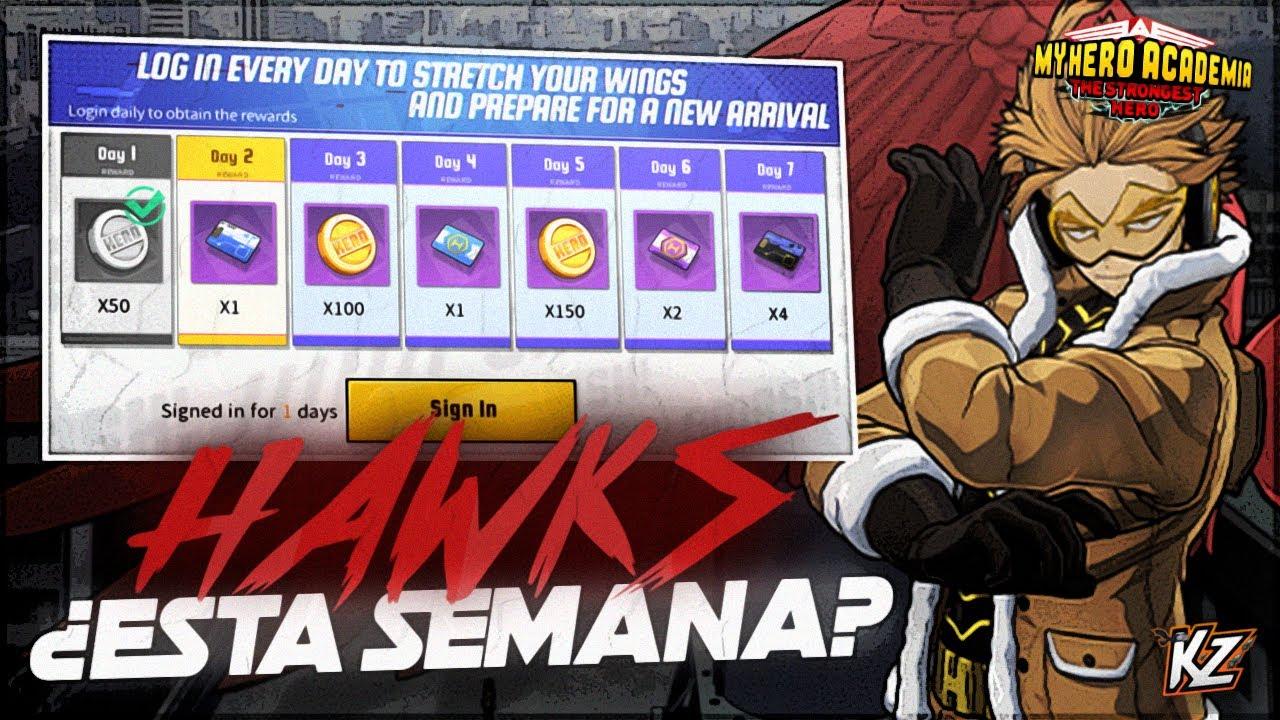 ¿LLEGARÁ HAWKS EL MIÉRCOLES? | My Hero Academia: The Strongest Hero