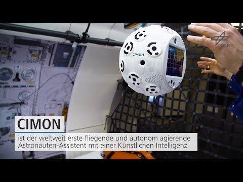 Trailer: CIMON - der intelligente Astronautenassistent