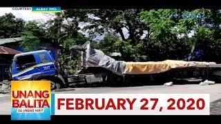 Unang Balita sa Unang Hirit: February 27, 2020 [HD]