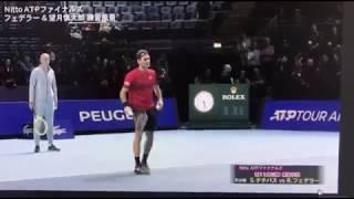 Roger Federer / Shintaro Mochizuki ATP FINALS Practice/フェデラー・望月慎太郎 ATP TOUR FINALS 練習 2019 ATP TOUR