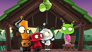 Rob The Robot | Tree House Trouble | Animated Cartoons for Kids by Oddbods & Friends