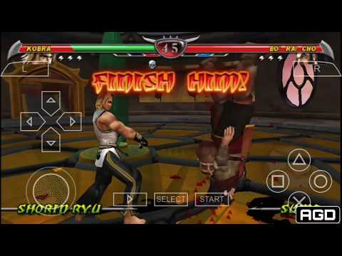 Mortal Kombat Unchained All Fatalities PPSSPP