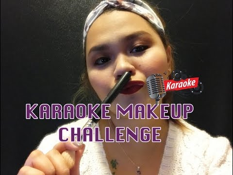 KARAOKE MakeUp Challenge | ItsRy | In Collaboration w/ MISS DIVINE | Tagalog