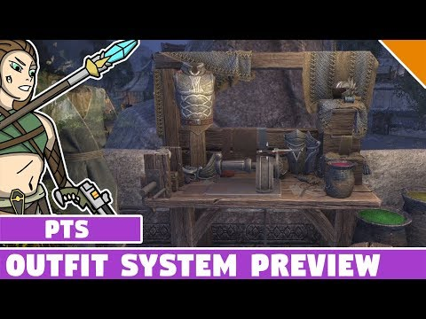 ESO Outfit Systen PTS (Test Server) Preview