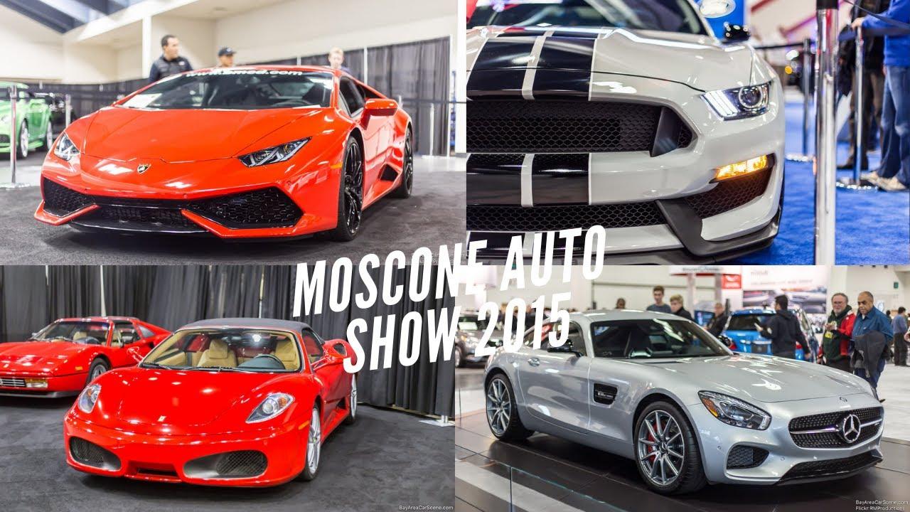 Moscone Center International Auto Show Walk Around YouTube - Moscone car show