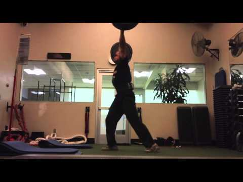 Dan Pope - Snatch and Clean and Jerk New PRs October 2013