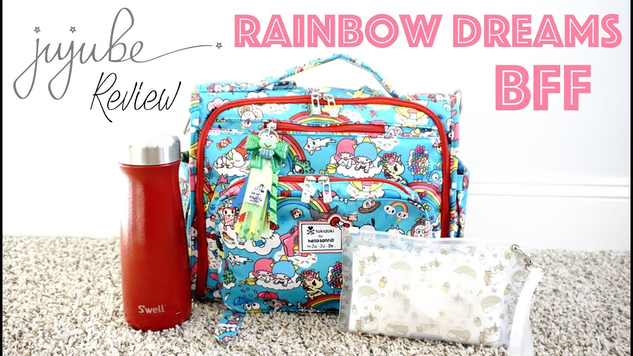 How To Pack For Baby Rainbow Dreams Bff Diaper Bag Ju Be Functional Simplistic Ng