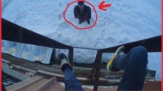 Руферы неудачники|Приняли на крыше