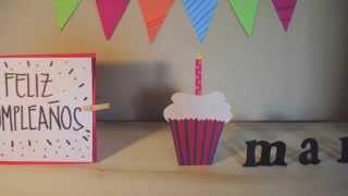 Feliz cumpleaños mamá - Stop Motion