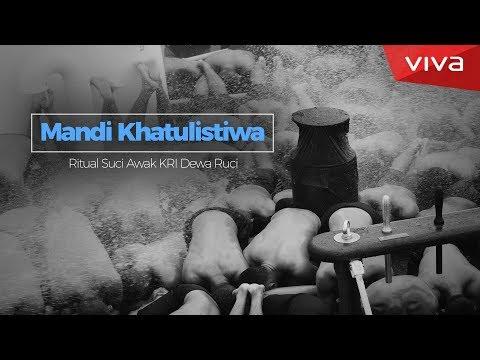 MANDI KHATULISTIWA: Ritual Suci Awak KRI Dewa Ruci