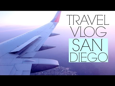 Travel Vlog : Follow Me Around San Diego