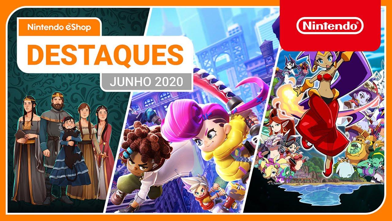 Destaques da Nintendo eShop: Junho de 2020