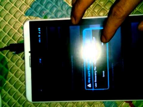 TUTORIAL INSTALL CWM ADVAN T1J