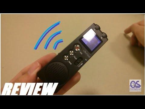 REVIEW: JimTab Bluetooth Digital Voice Recorder (8GB)