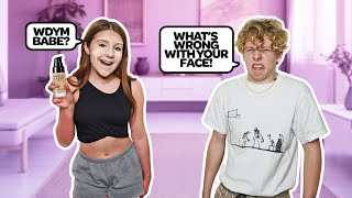 Wearing A WHOLE BOTTLE OF FOUNDATION To See If My BOYFRIEND Notices **REACTION** ❤️🤡| Piper Rockelle
