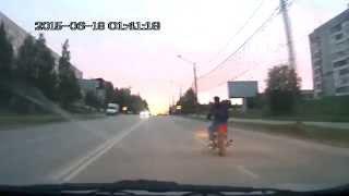 В столице Коми госавтоинспекторы устроили погоню за мотоциклистом