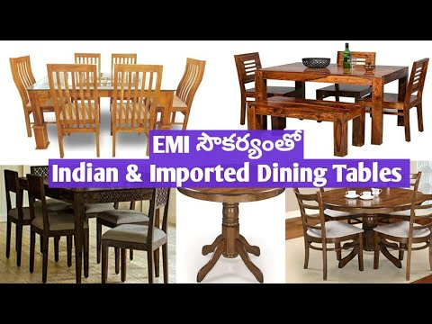 Furniture Factory - New Model Dining Tables - Premium Quality - EMI facility