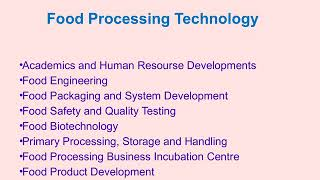 food processing technology and food technology colleges in tamilnadu india