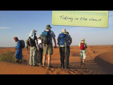 Global Adventure Challenges: Sahara Desert Trek 2016