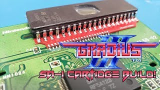 Making a REAL Gradius III SA-1 Cartridge!