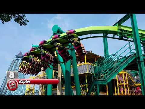 Top 10 Best CEDAR POINT Roller Coasters (HQ)