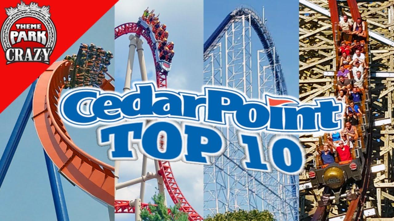 Download Top 10 Best CEDAR POINT Roller Coasters (HQ)