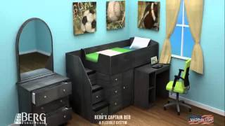 Berg Furniture Captain's Bed Animation