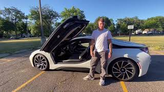 BMW i8 REVIEW + DRIVE‼️