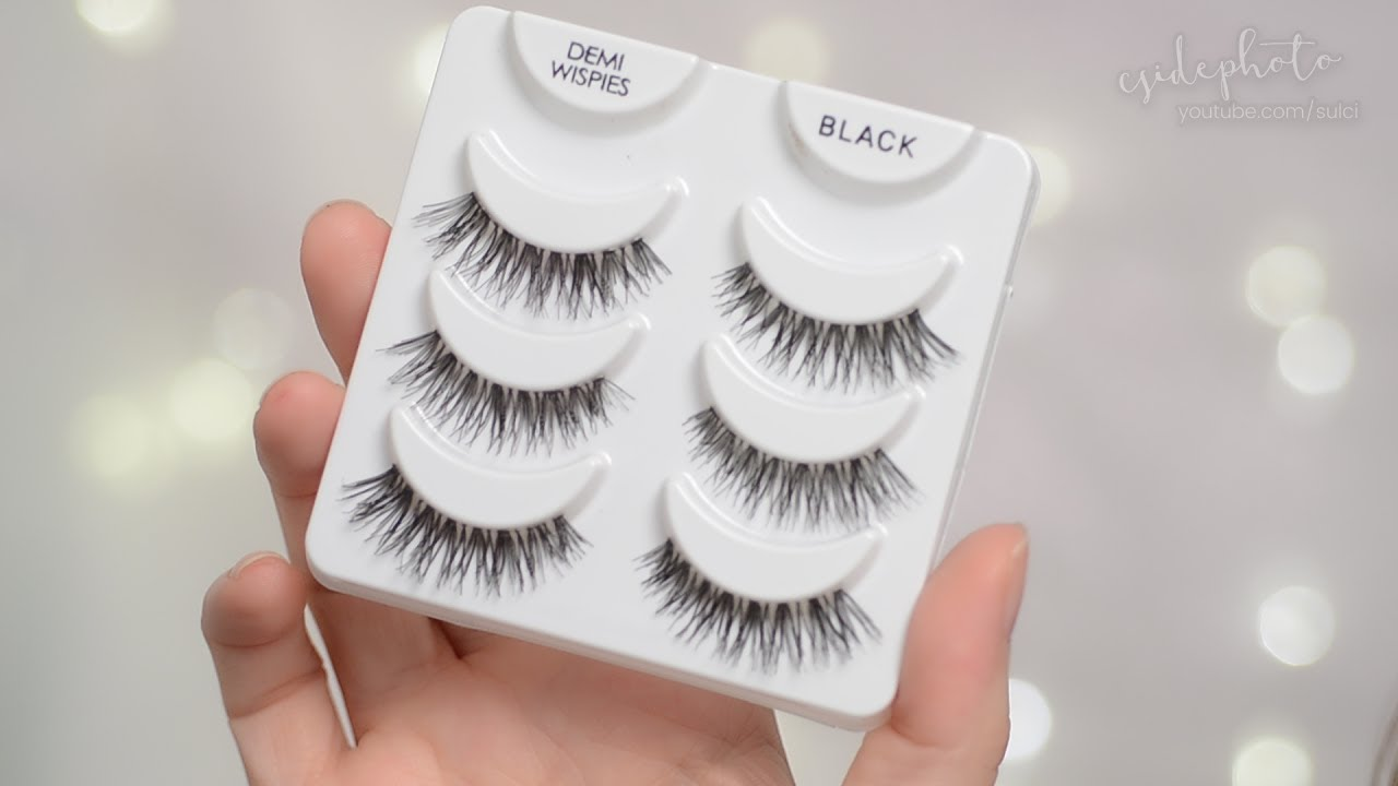 284d720627b Ardell Demi Wispies Lashes Review & Demo | CORRIE SIDE - YouTube
