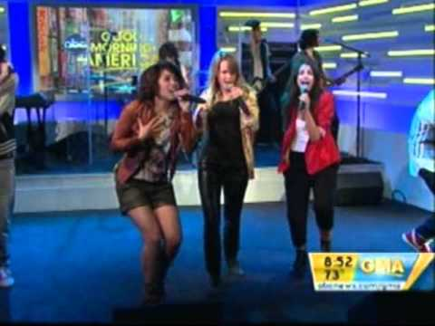 The Cast Of Lemonade Mouth@GMA
