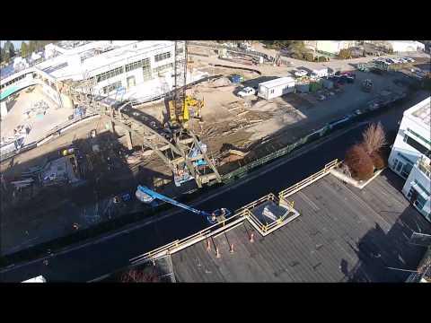 Google Kirkland Campus Bridge Construction