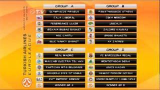 2011-12 Euroleague Draw