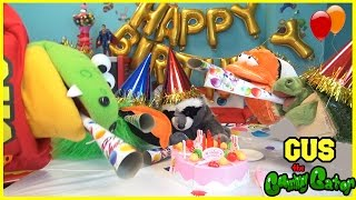 GUS'S BIRTHDAY PARTY Pretend Play toys! Family Fun Games and Presents Funny Video for kids Part 2
