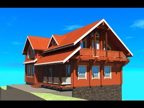видио некоторых построенных домов по моим проектам