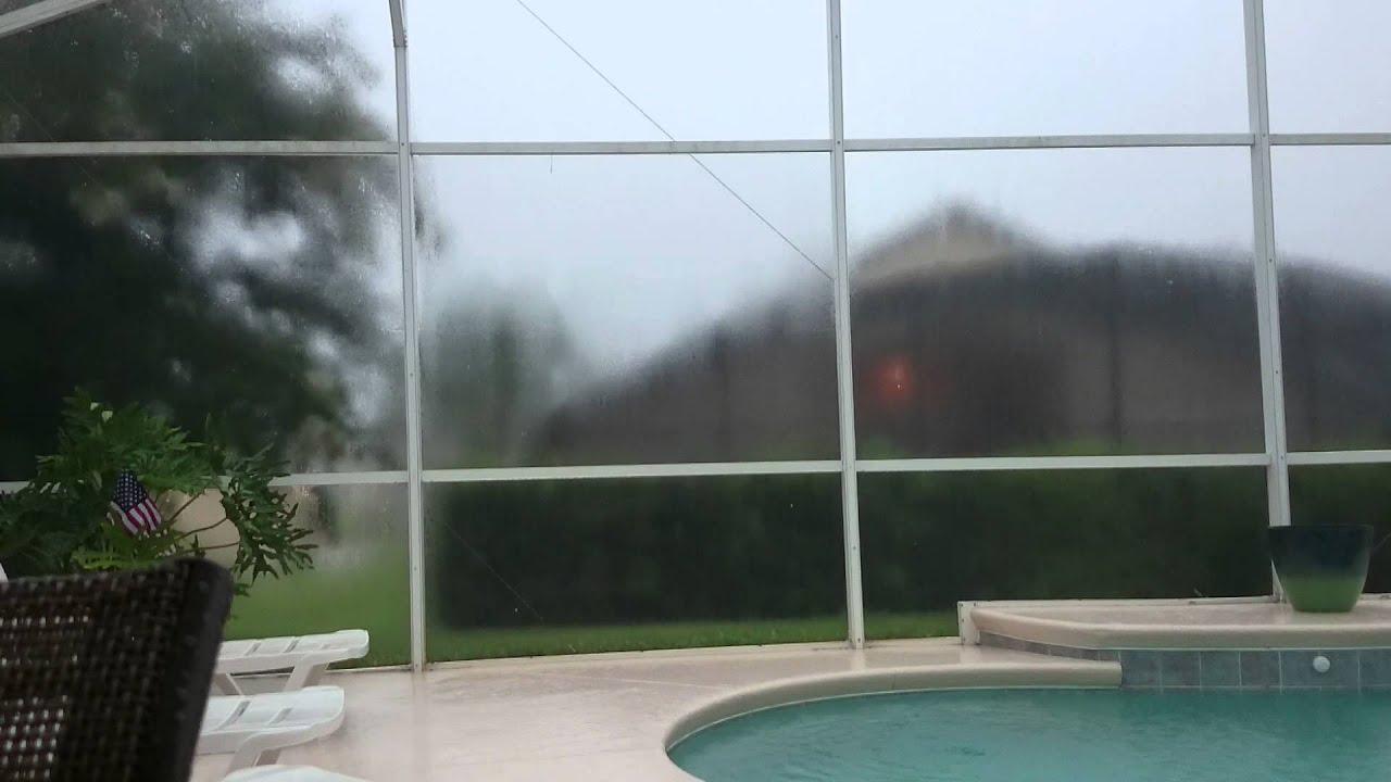 Lightning Storm In Davenport Florida Youtube