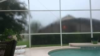 Lightning storm in Davenport, Florida.