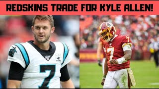 Panthers Trade Kyle Allen To The Redskins For A 5th Round Pick
