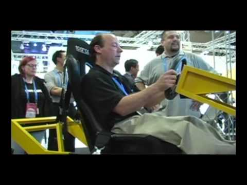 Inside Sim Racing Episode 4 Logitech Driving Force GT First Look at GDC