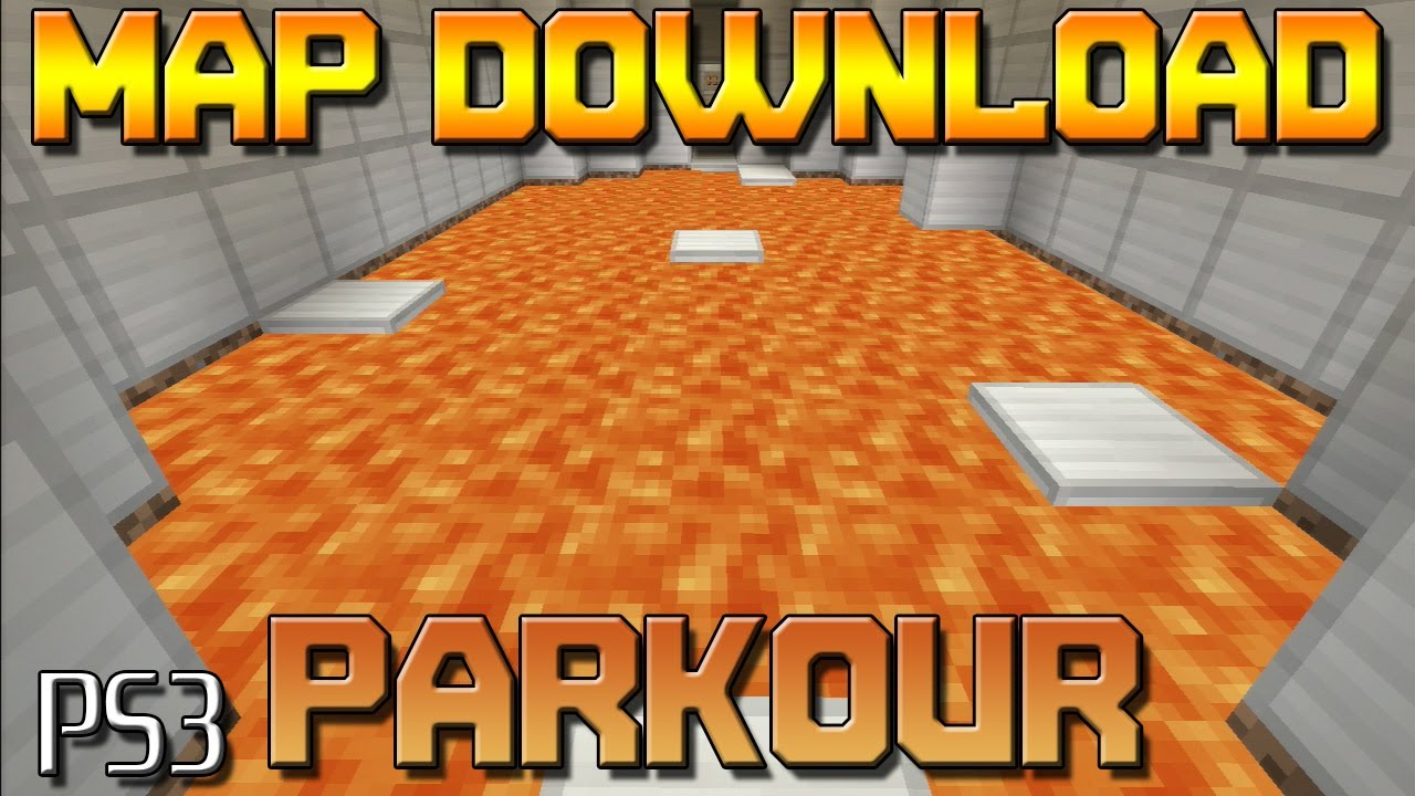 Parkour Map (Minecraft PS3 Map Download) - Minecraft Console