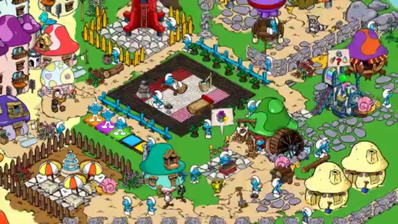 how to get more smurfberries in smurfs village for free