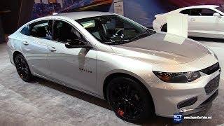 2018 Chevrolet Malibu RedLine Edition - Exterior and Interior Walkaround - 2018 Montreal Auto Show