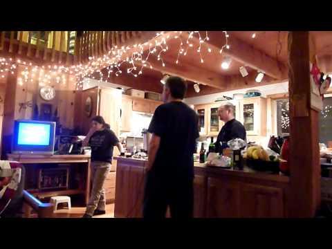 Christmas Eve Karaoke, Sun Mountain Ranch, Oregon