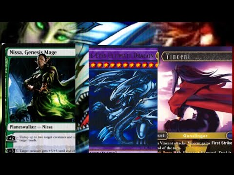 Vincent Valentine EX Turk :magic deck ,yugioh deck, final fantasy deck